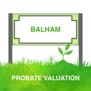Probate Valuation Balham